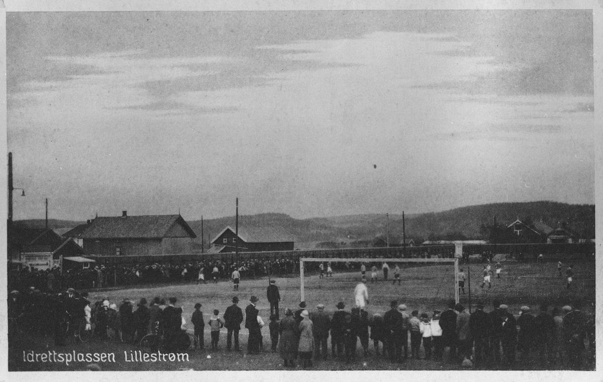 Idrettsplassen Lillestrøm.