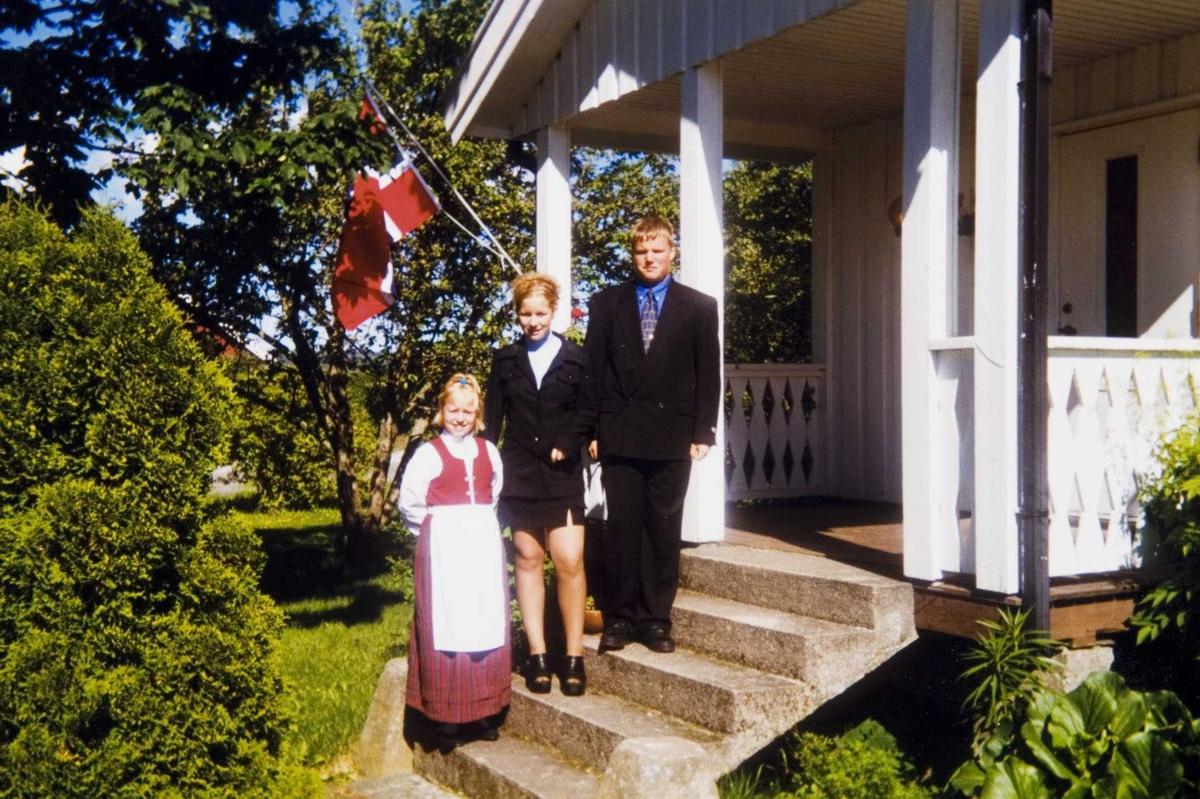 Konfirmasjon på Daltorp, Søndre Høland