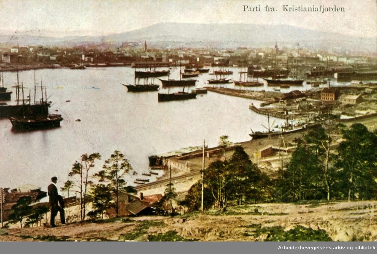 Parti fra Kristianiafjorden,.1910-19.