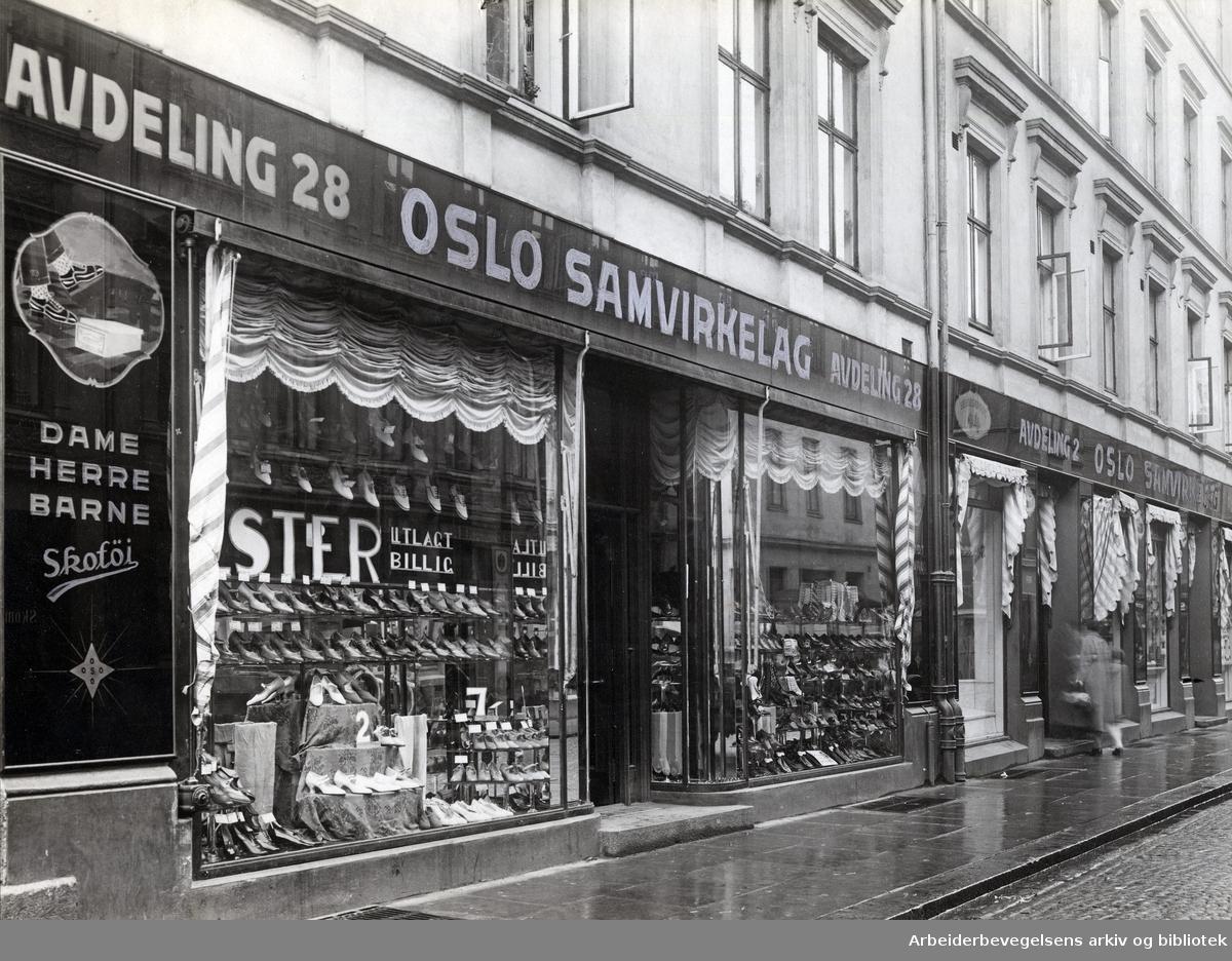 Oslo samvirkelag, avdeling 28 i Helgesensgt. 12,.1930-tallet