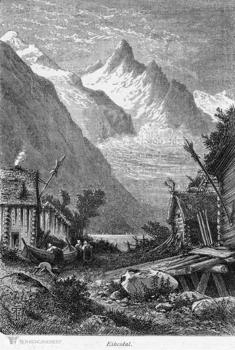 """(Bilde tatt fra boken """"Gamle Norge"""" R.R.Pritchett"""")"""