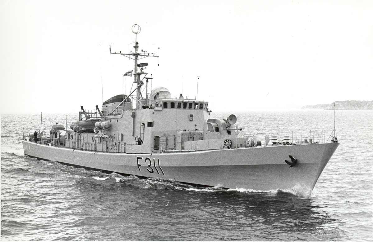 KNM Æger, fregatt av Sleipner-kl