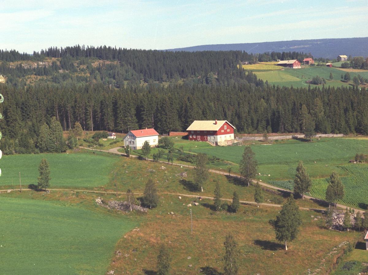 SKREDDERSTUEN, ÅSMARKA. FLYFOTO.