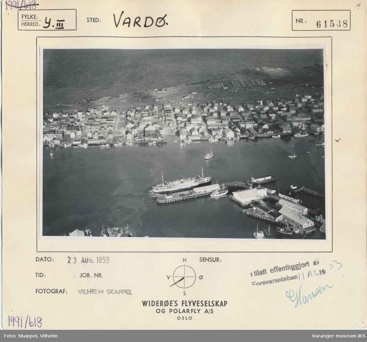 Flyfoto, Nordre Våg og Vestervågen