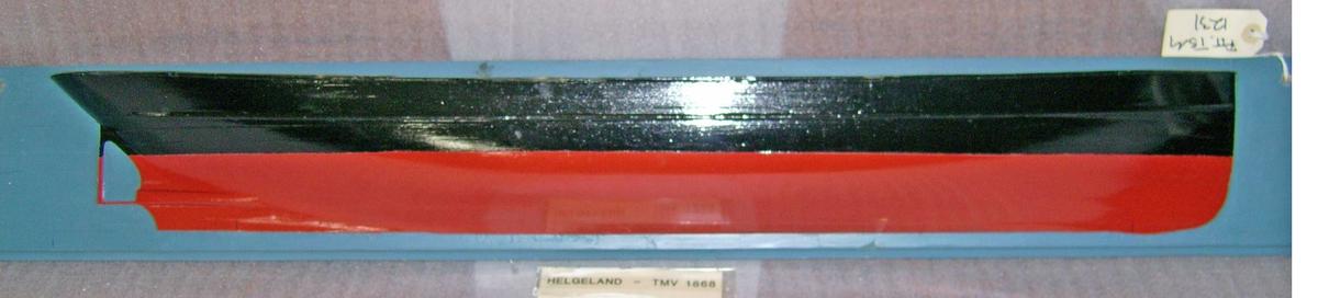 """""""Helgeland"""" bygd på TMV i 1868."""
