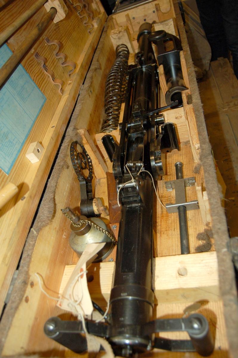 Automatkanon, 20 mm LV typ 2 Beckers. Luftvärn.