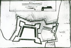 Jönköpings slott. Plan för Jönköpings befästning.