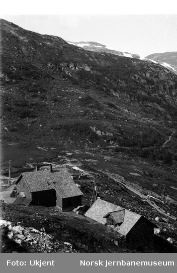 """Forsamlingshuset """"Myrhallen"""" ved Myrdal og Leite brakke"""