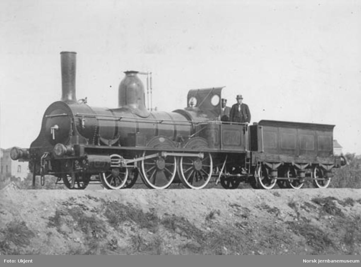 Hovedbanens damplokomotiv nr. 1