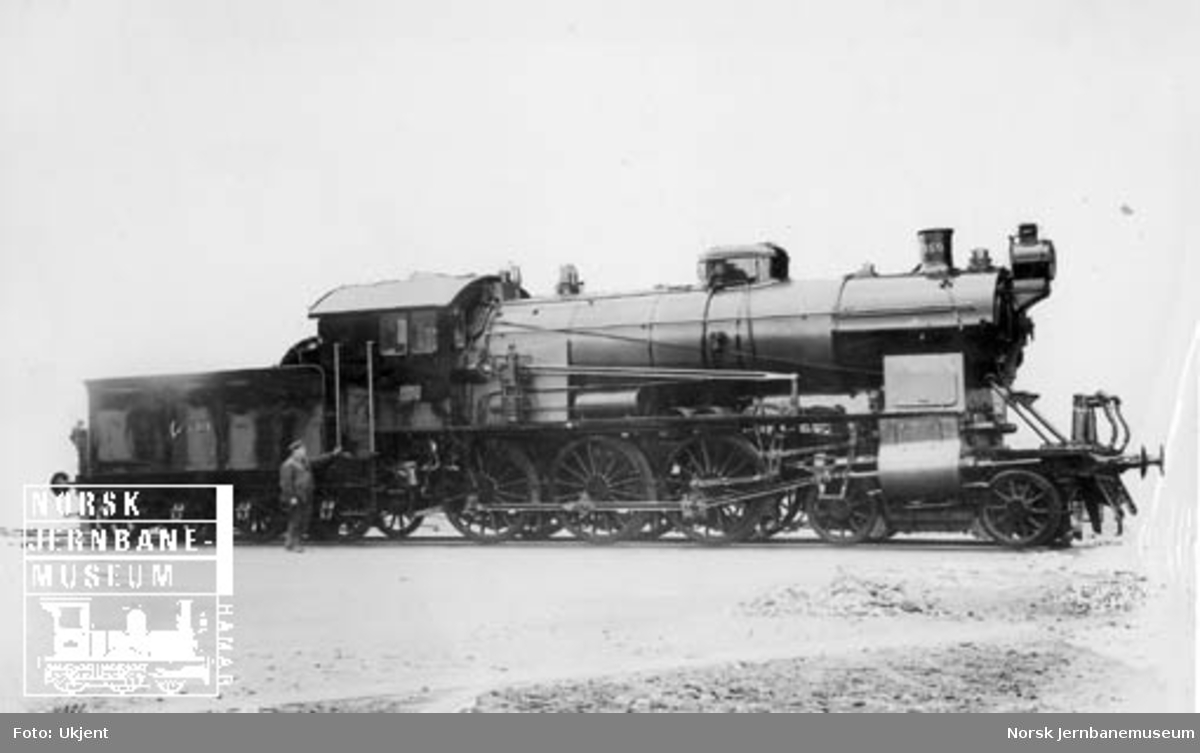 Leveransefoto av damplokomotiv type 30b nr. 359