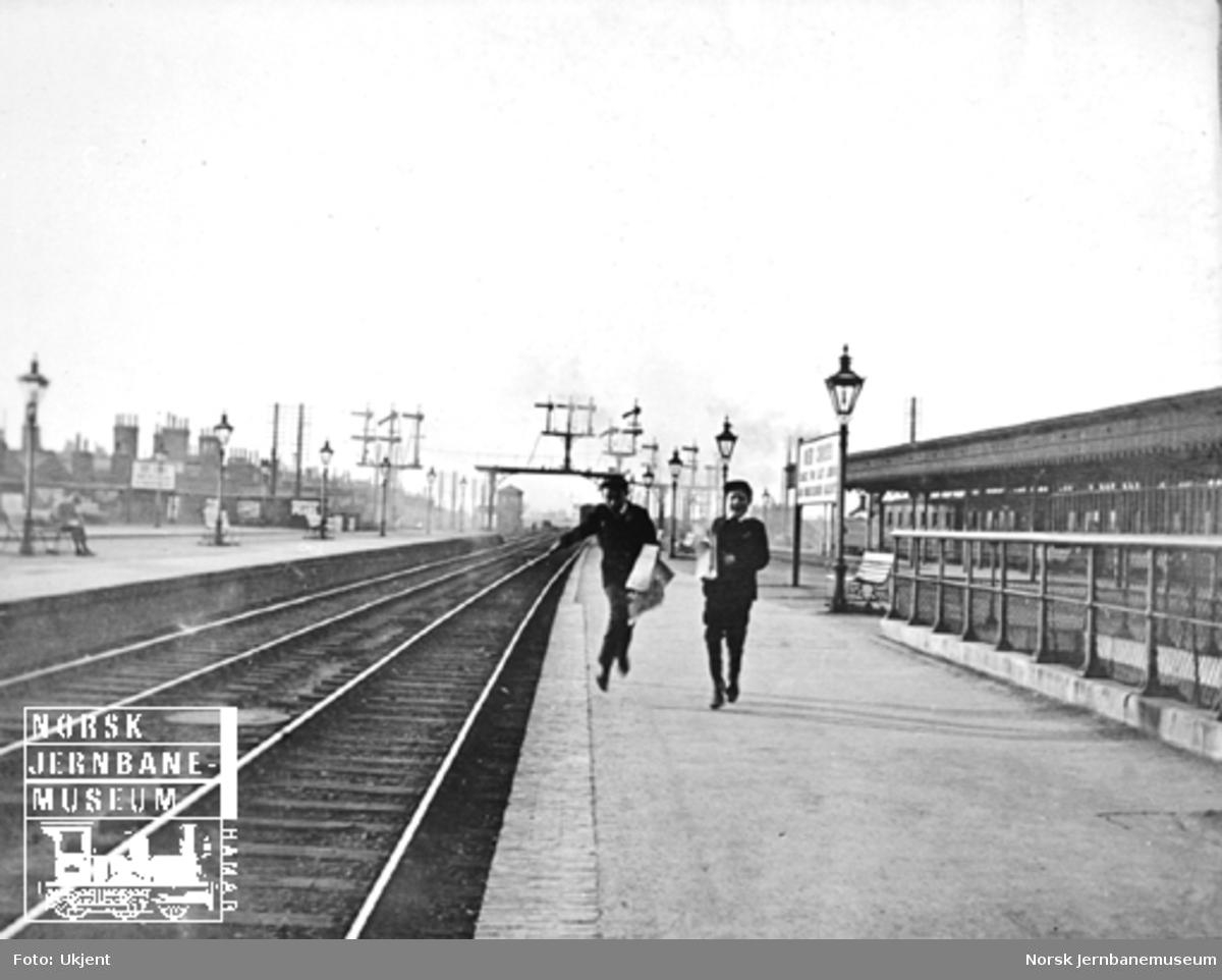 Plattformbilde fra New Cross-stasjonen
