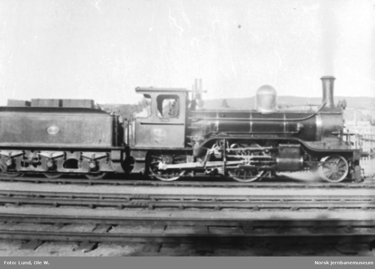 Hovedbanens damplokomotiv nr. 7