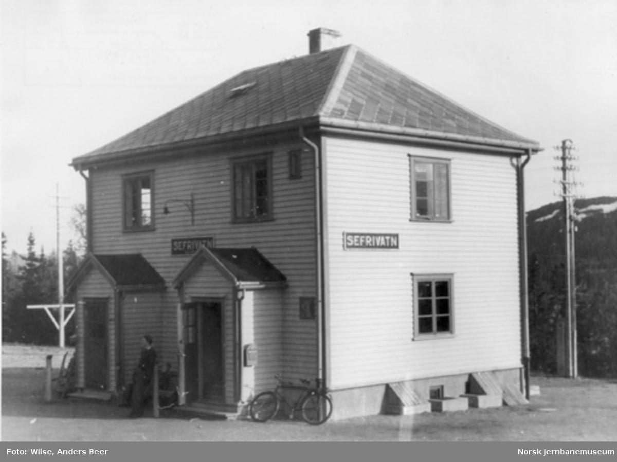 Sefrivatn stasjonsbygning