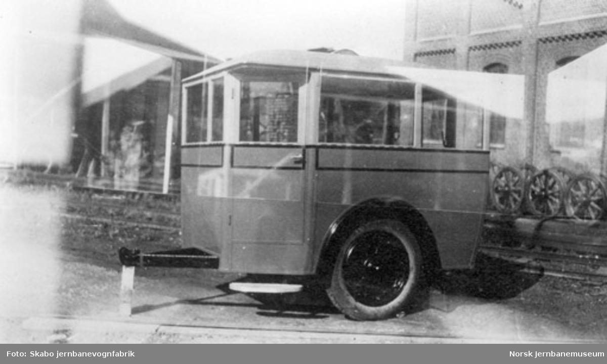 Busstilhenger til Karmøyruten for Veidirektoratet