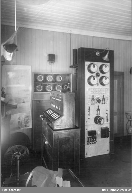 Stillverket på Leangen stasjon