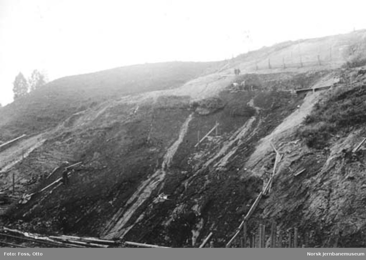 Linjeomlegging ved Bøn : skråning km 61,25
