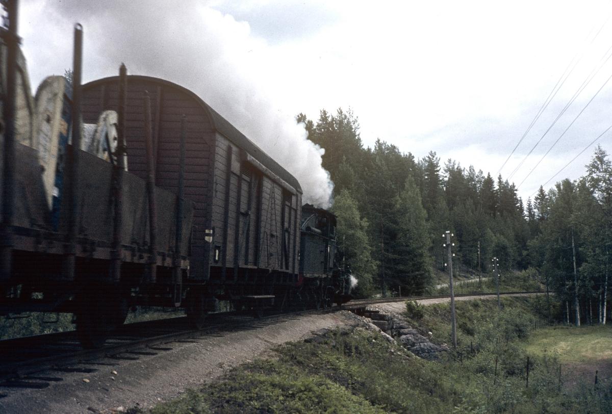 Godstog på Numedalsbanen