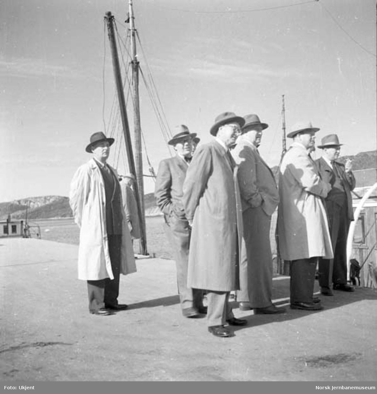 NSBs hovedstyre på befaring på Nordlandsbanen