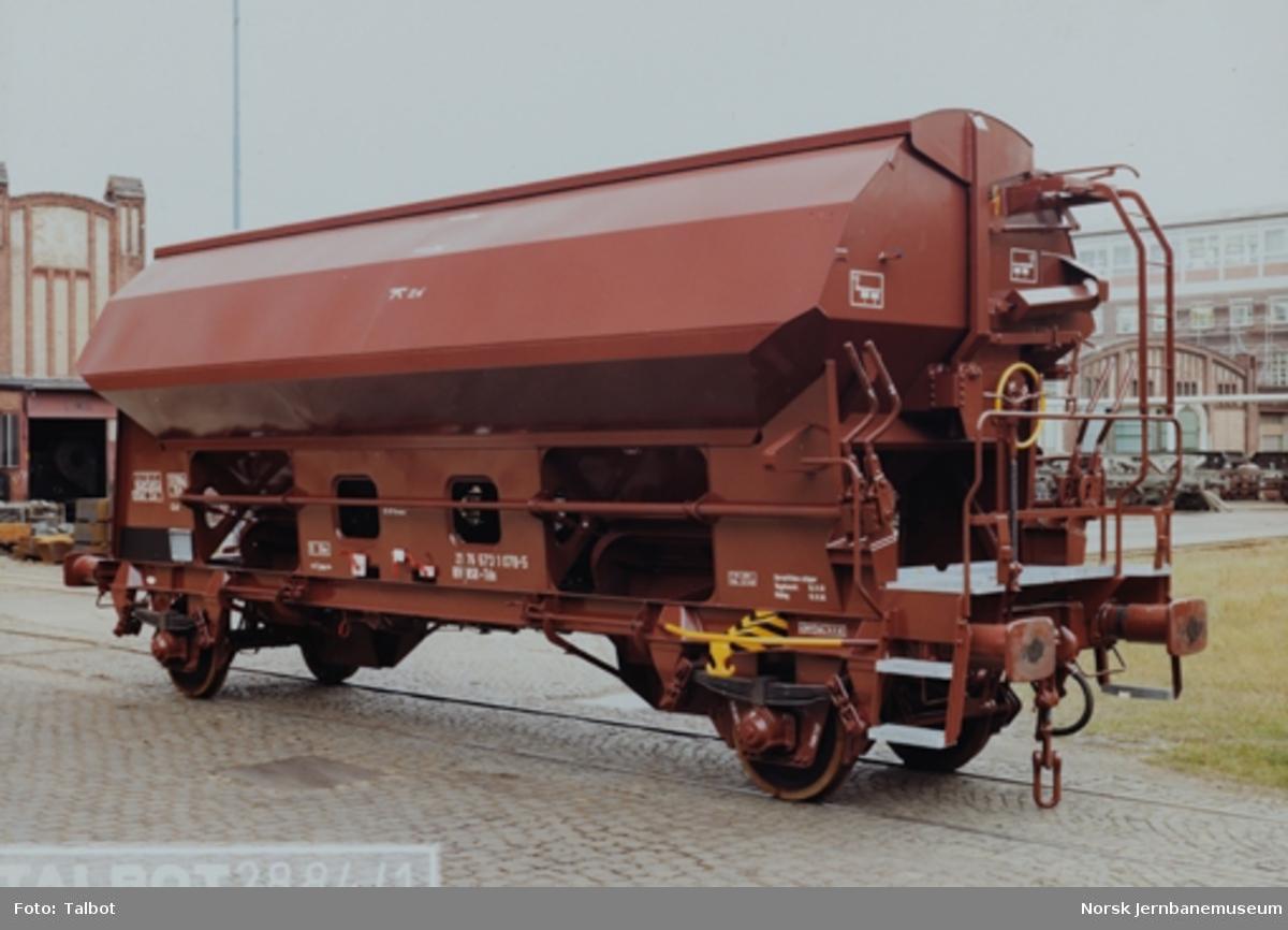 Leveransefoto av NSB godsvogn litra Tds nr. 573 1078-5