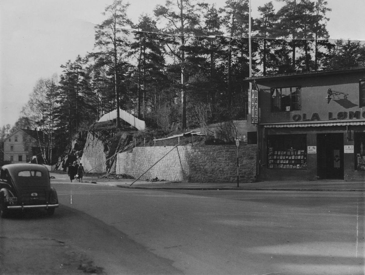 Krysset Storgata / St. Olavs gate, Leiret, Elverum.