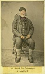 60. Mand fra Bremanger fra Søndfjord.