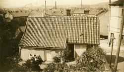 Johannesgata 1, Enerhaugen, Oslo 1921-22. Lite trehus med ba