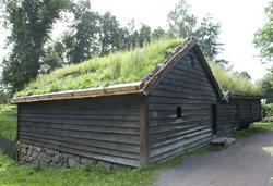 Stue og sengebu fra Ytre Sæle i Bygstad, Gaular, Sunnfjord.