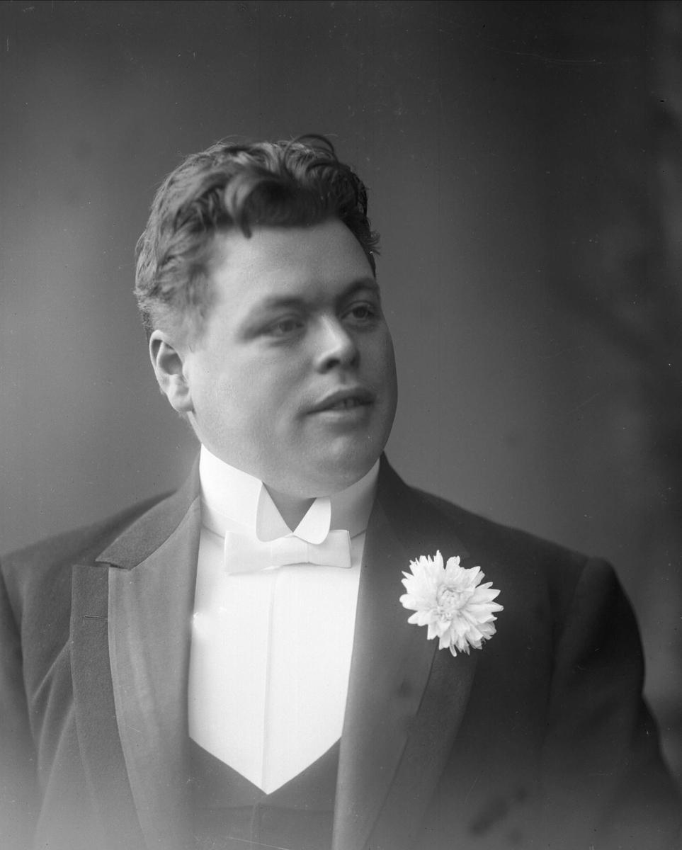 Portrett, operasanger Hoffmann.