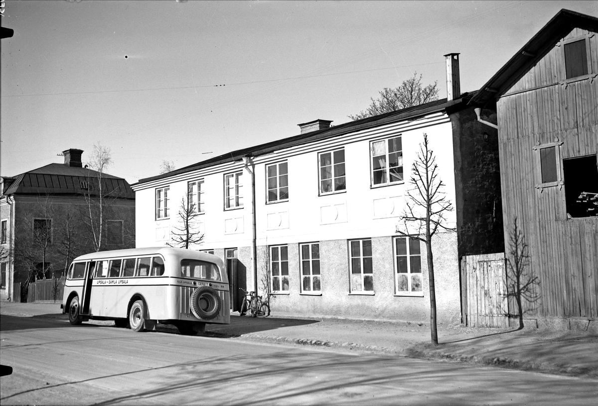 J W Nilssons Vagn- och karossfabrik, Timmermansgatan 4, Uppsala 1935