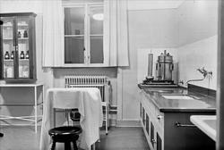 Tunåsens sjukhem, kvarteret Inge, Styrbjörnsgatan, Svartbäcken, Uppsala - behandlingsrum