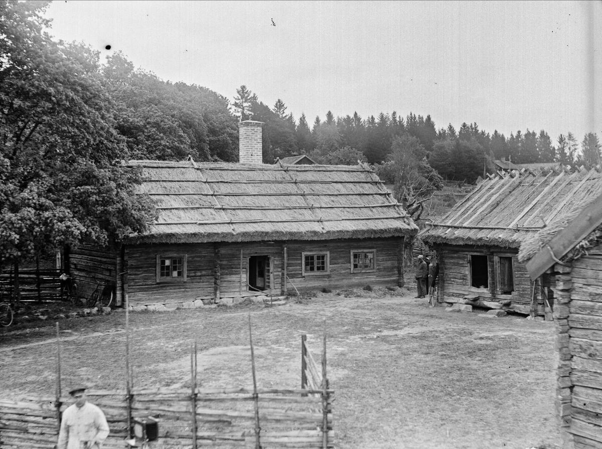 Friluftsmuseet Kvekgården, Kvek, Fröslunda socken, Uppland 1934