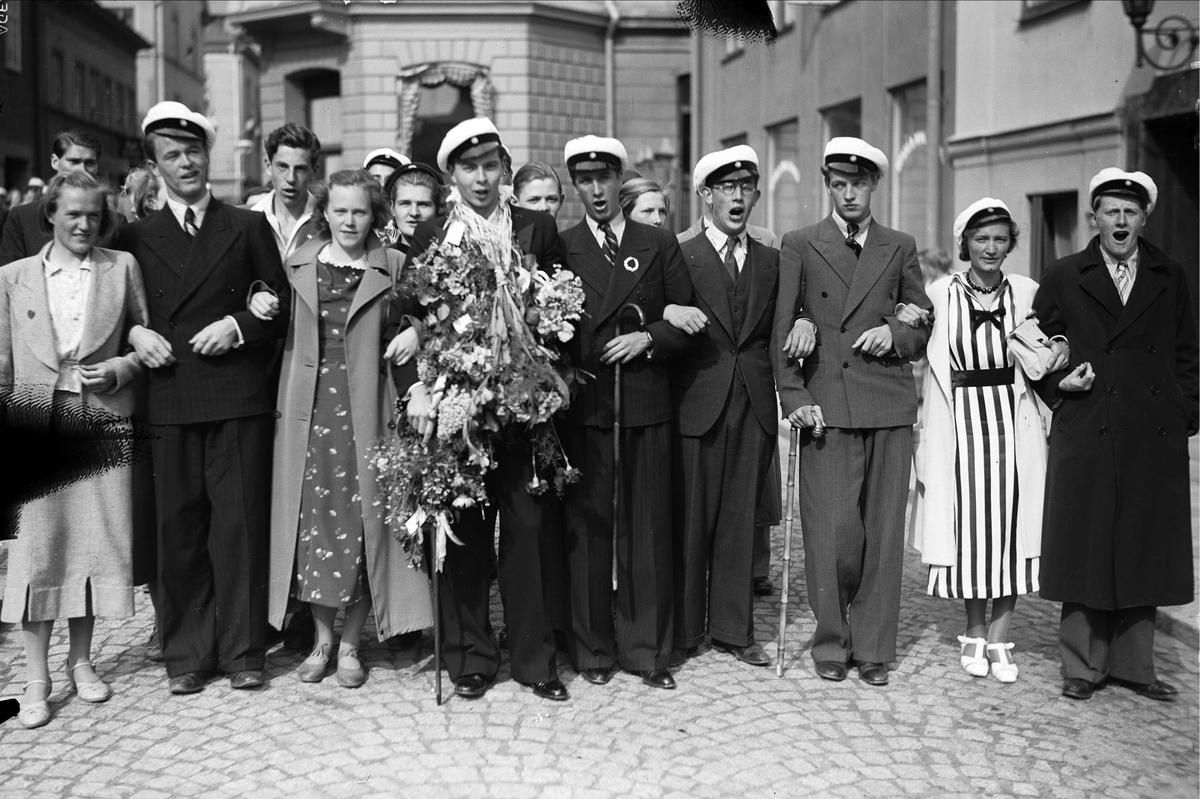 Studentexamen, Uppsala 1937