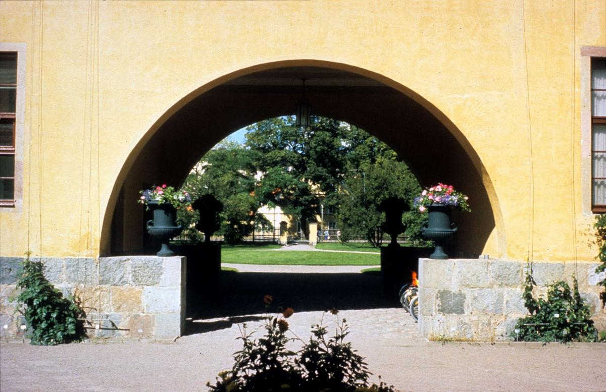 Linneanum, Botaniska trädgården, Uppsala 1987
