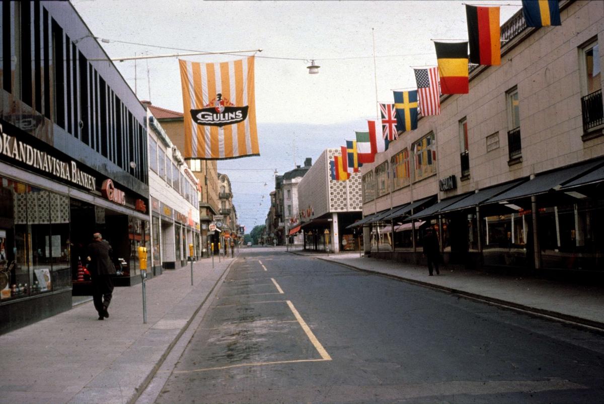 Kungsängsgatan, Uppsala 1963
