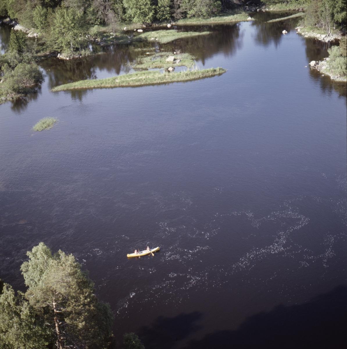 Vy över Storfjärden, Älvkarleby socken, Uppland, juni 1989