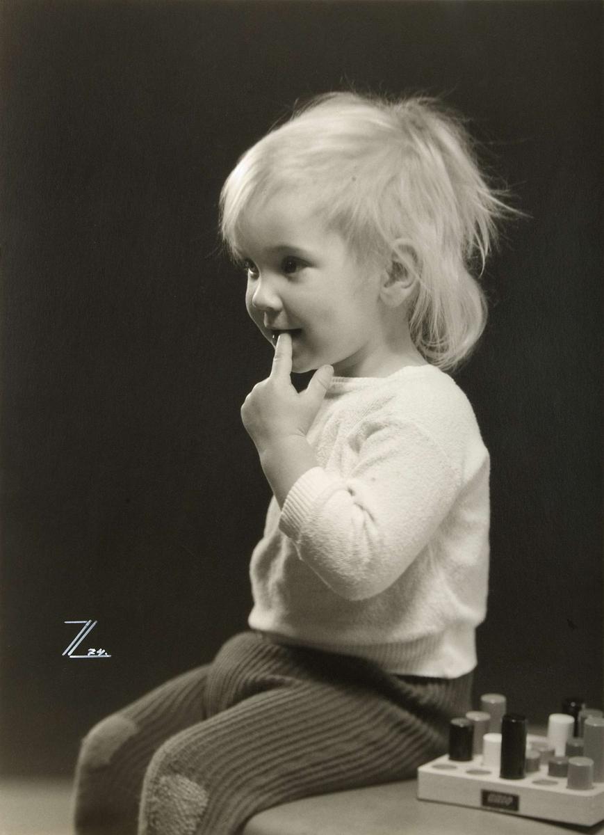 Barnporträtt - Geir Hansten Jörgensen, Uppsala 1974