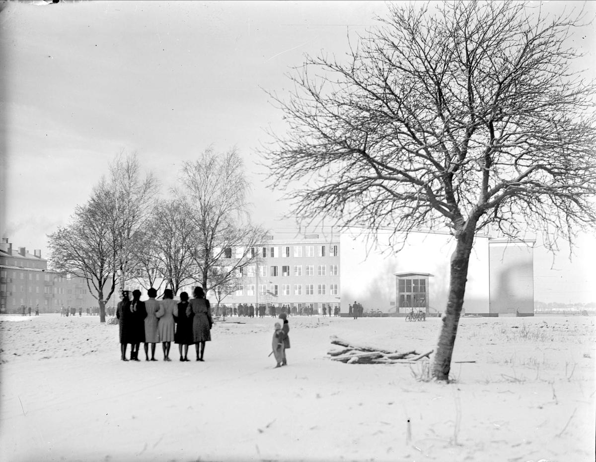 Praktiska Mellanskolan, kvarteret Luthagsstranden, Uppsala