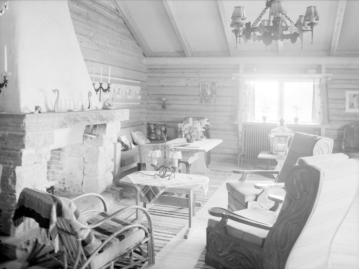 Byggmästaren Anders Diös bostad i Mora, Dalarna 1939