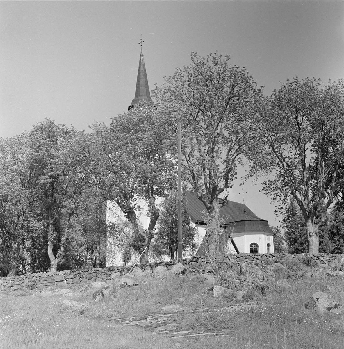 Enköpings-Näs kyrka, Enköpings-Näs socken, Uppland 1960