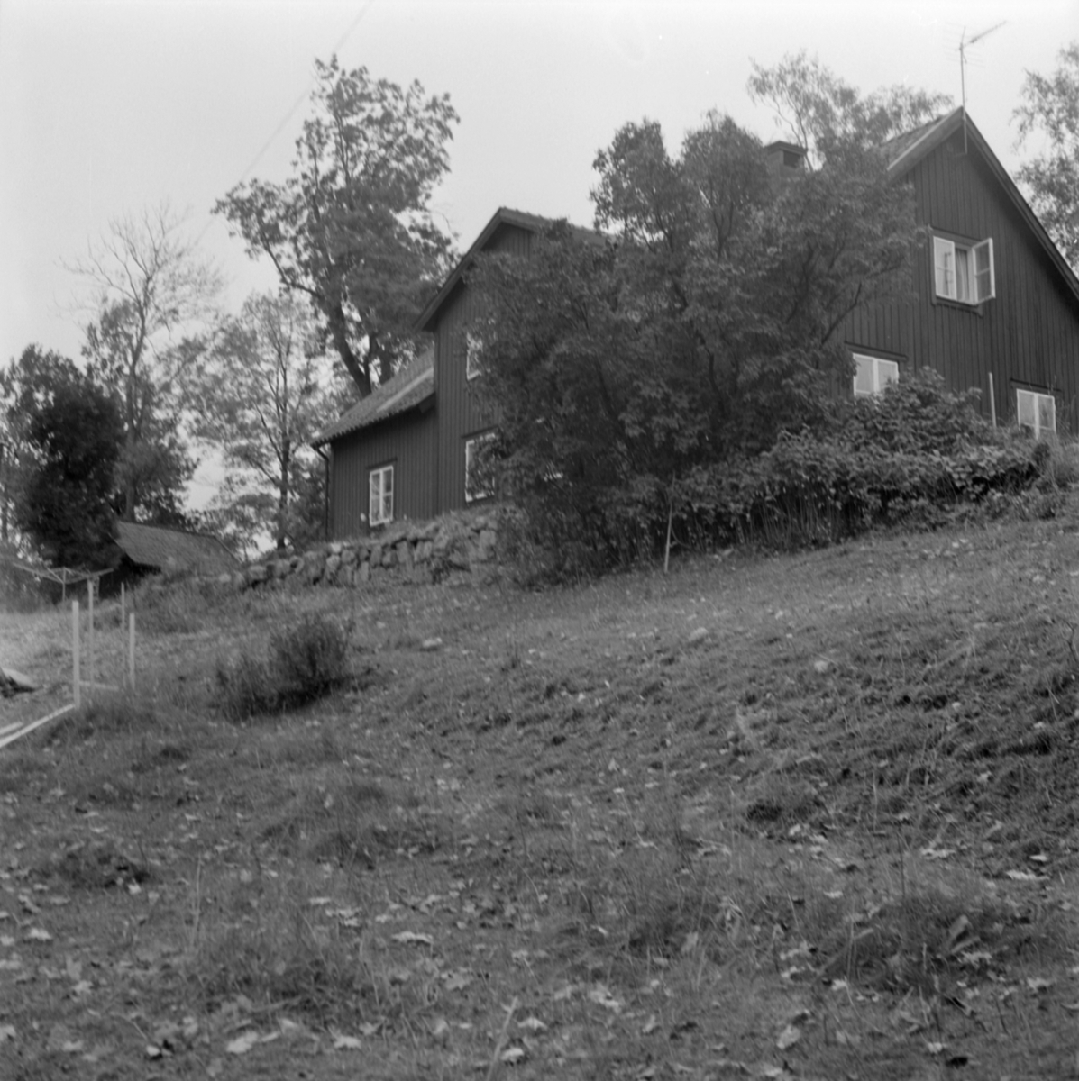 Arkeologisk undersökning, Prästgården 1:1, Gamla Uppsala 1972