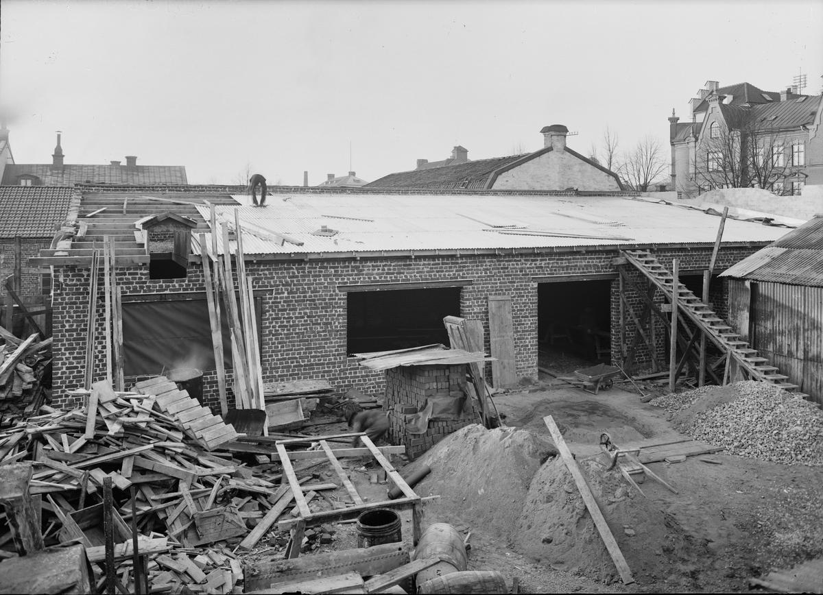 Bygge, Uppsala 1930