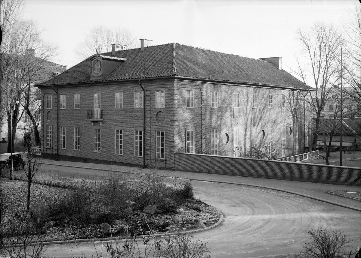 Värmlands studentnation vid Riddartorget, Uppsala 1939