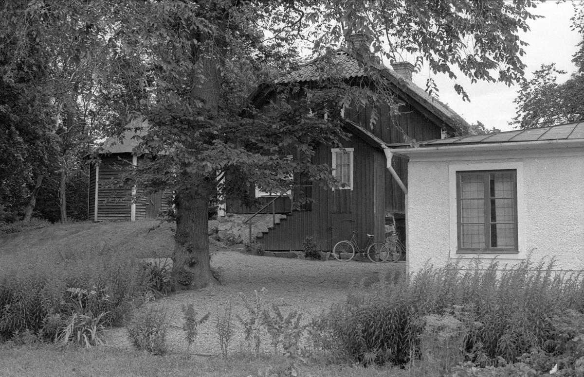 Bostadshus, Hässelby 5:1, Börje socken, Uppland 1983