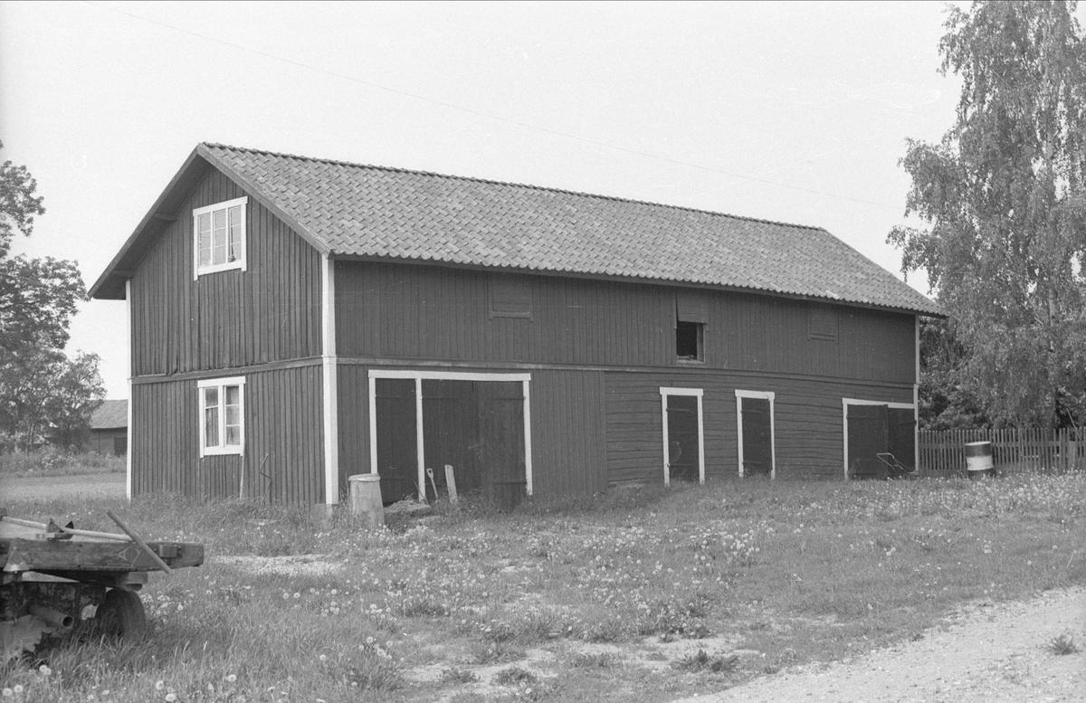 Lada och loge, Tjocksta 4:1, Tjocksta, Danmarks socken, Uppland 1977