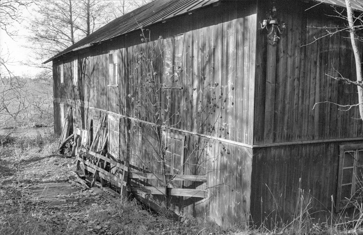 Garveri, före detta Ensta sämskfabrik, Ensta, Gamla Uppsala socken, Uppland 1978