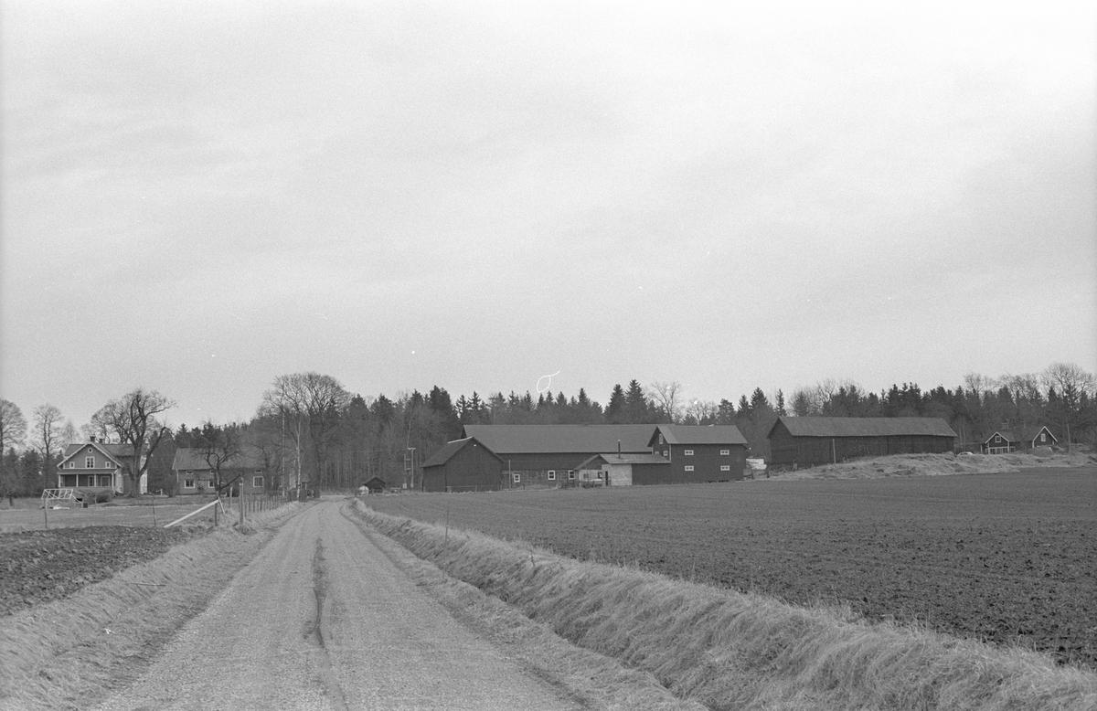 Vy över Skornome 1:2, Skornome, Hagby socken, Uppland 1986