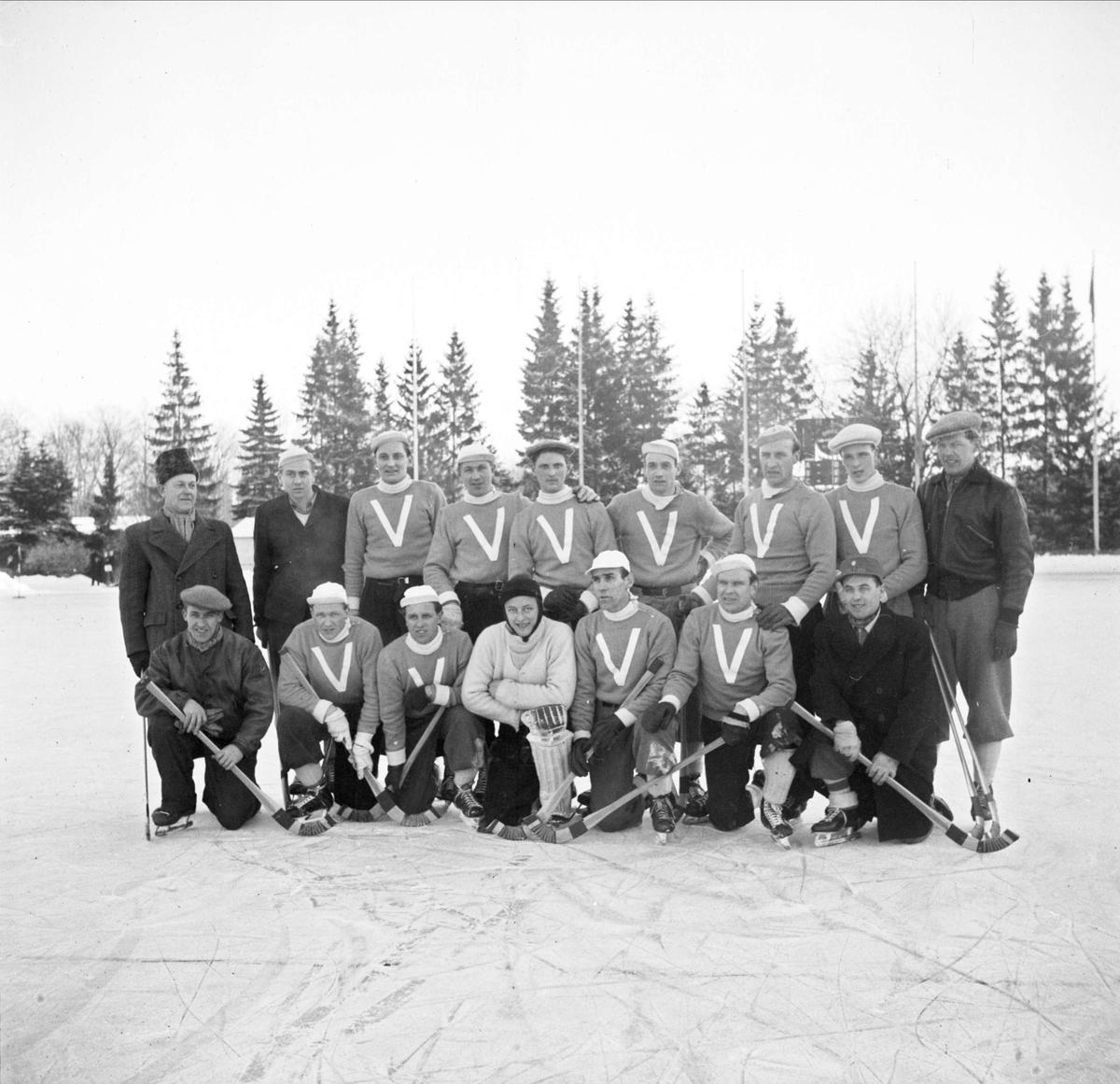 Bandy - IF  Vesta till allsvenskan 1947