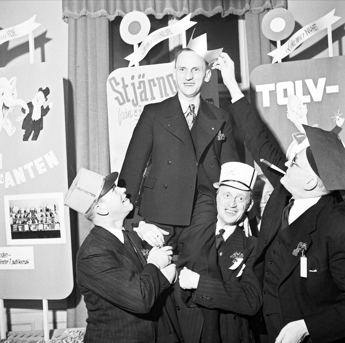 Barnens Dag -  Ledarföreningens konferens, Uppsala mars 1947