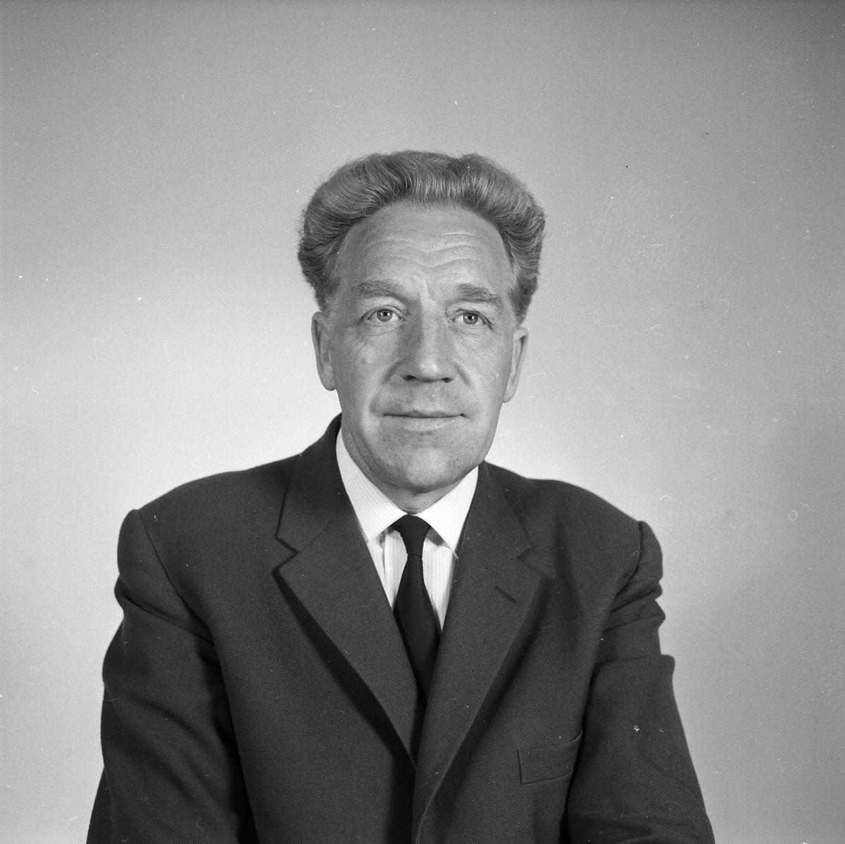 Richard Sarby, Uppsala augusti 1961