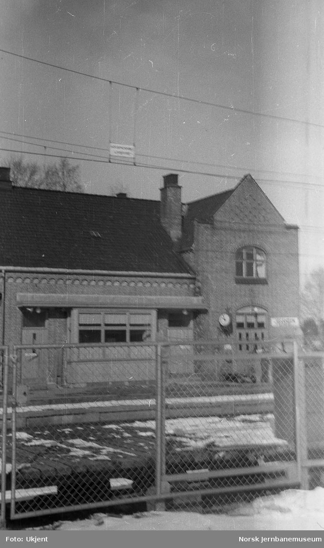 Jessheim stasjon : nettinggrind
